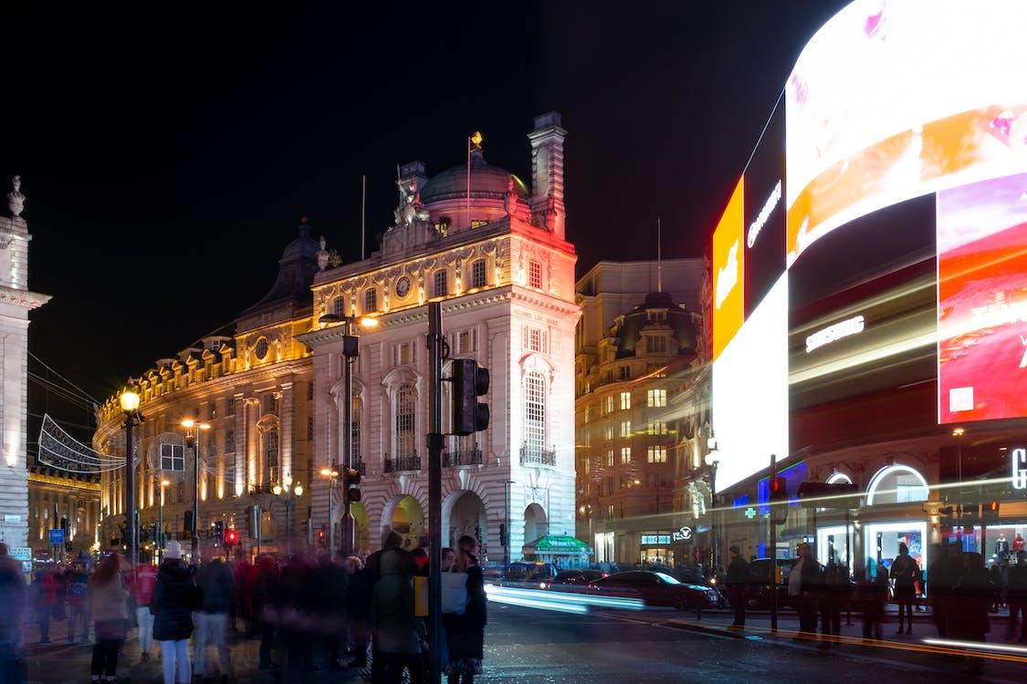 băng qua, London, những người