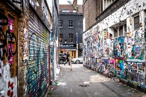 Gratis arkivbilde med gate, gatefoto, graffiti, london