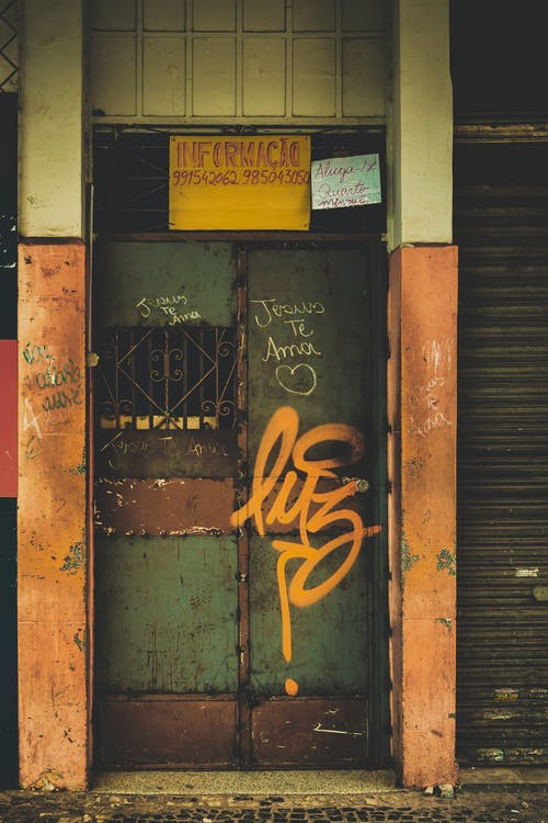 Free stock photo of brasil, city, day, door