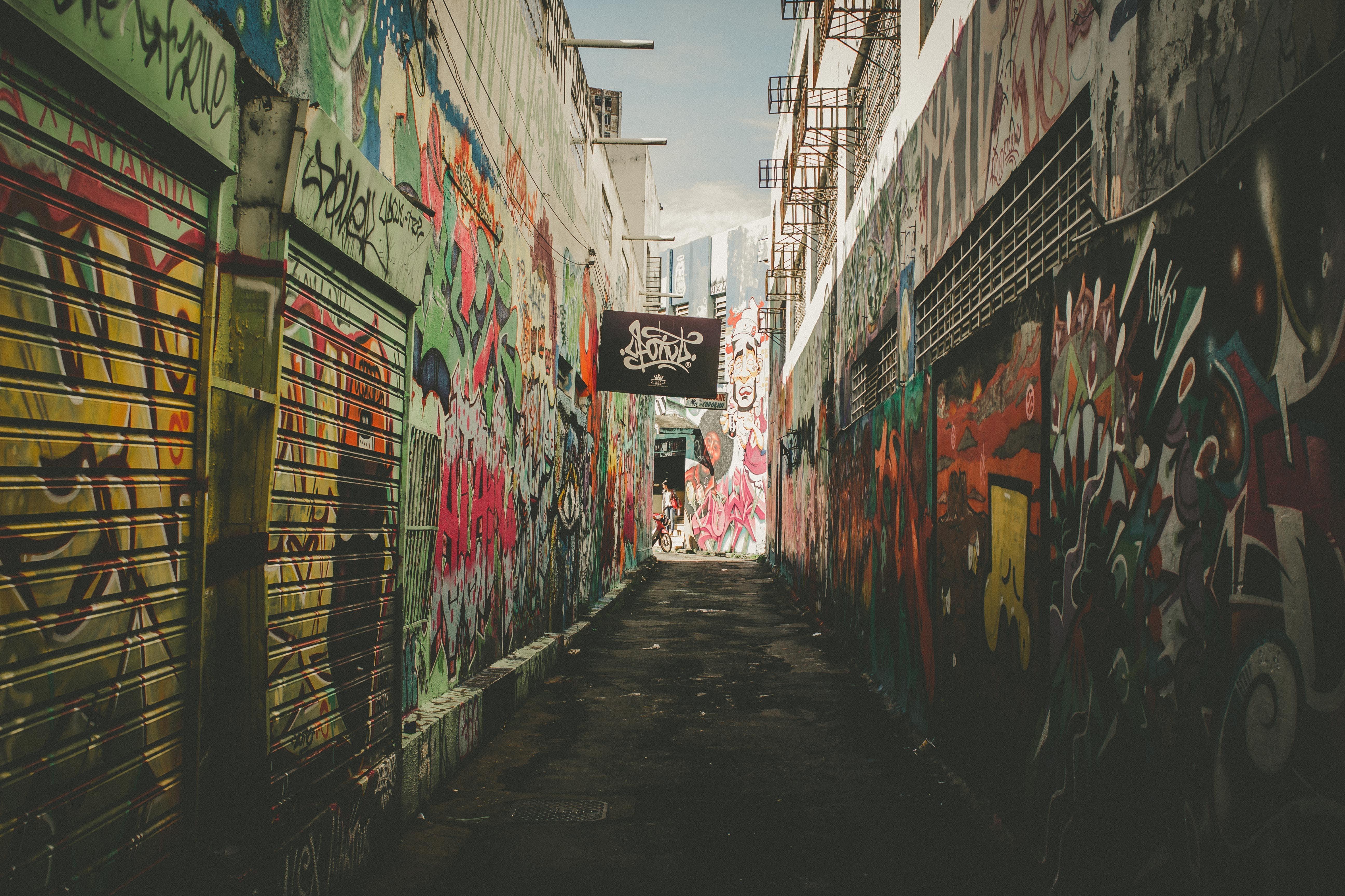 Free stock photo of beco, beco da codorna, brasil, city