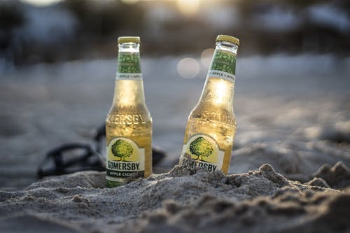 Free stock photo of beach, cider, sunset