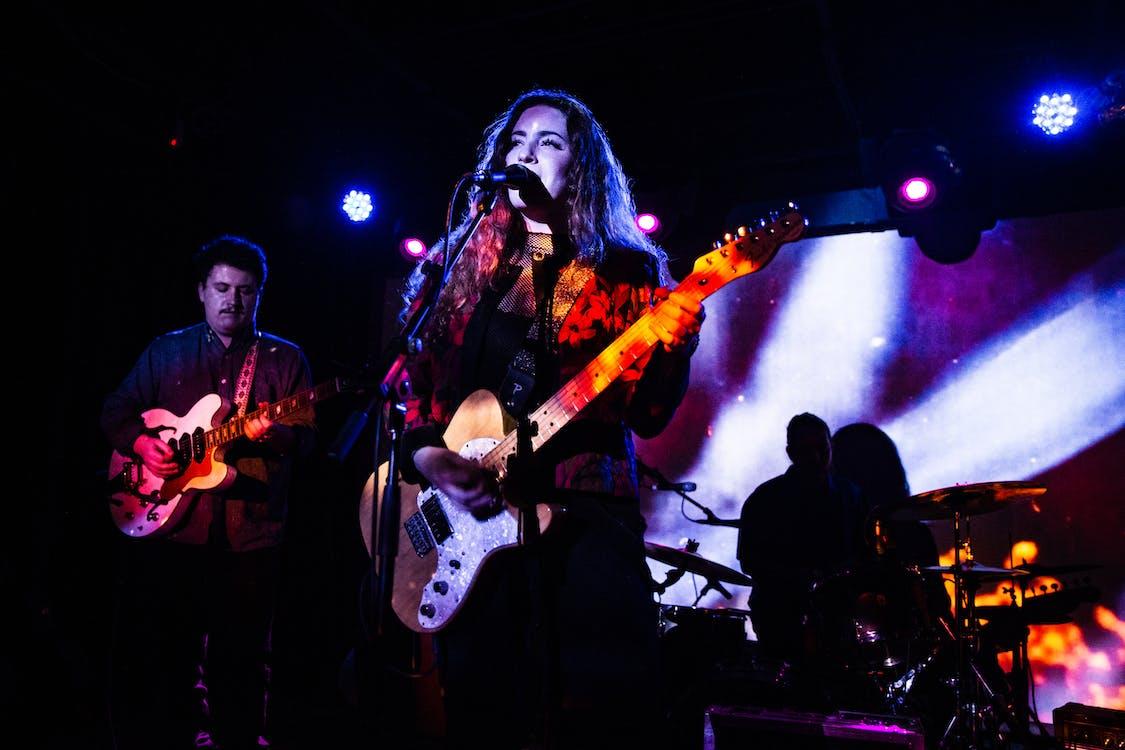 光, 光線, 吉他手