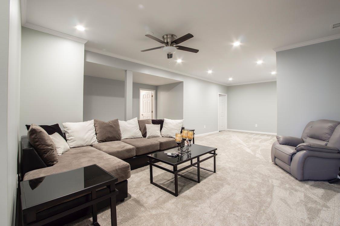 內部, 公寓, 咖啡桌