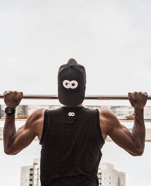 Gratis stockfoto met achteraanzicht, actief, biceps, bodybuilder