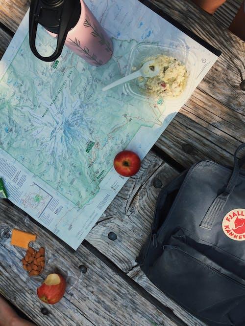 Free stock photo of hike, map, mount rainier, mountain