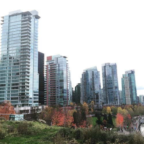 Free stock photo of apartments, british columbia, canada, city