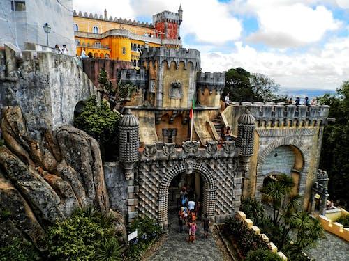 佩納, 城堡, 宮殿 的 免費圖庫相片