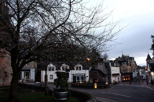 Foto d'estoc gratuïta de carrer principal, cel, dunblane, Escòcia