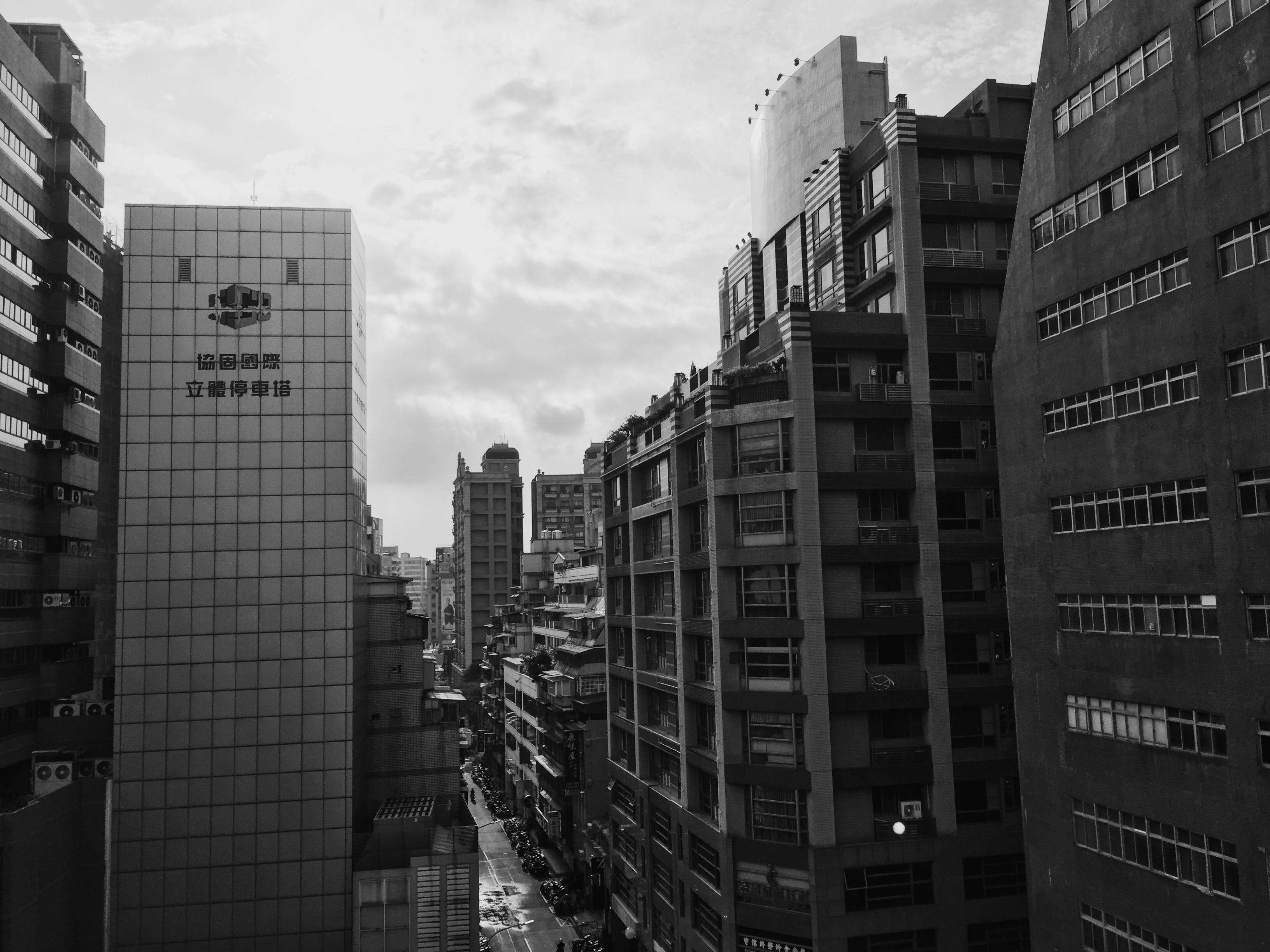 Concrete Glass High Rise Buildings