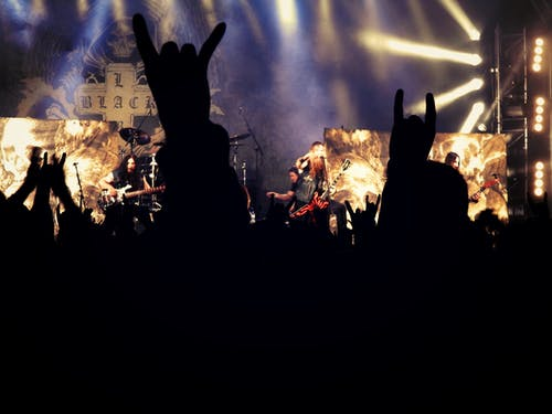 人群, 演出, 重金屬 的 免費圖庫相片