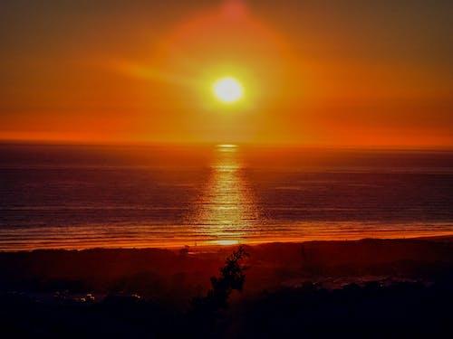 太陽, 日落, 水 的 免費圖庫相片