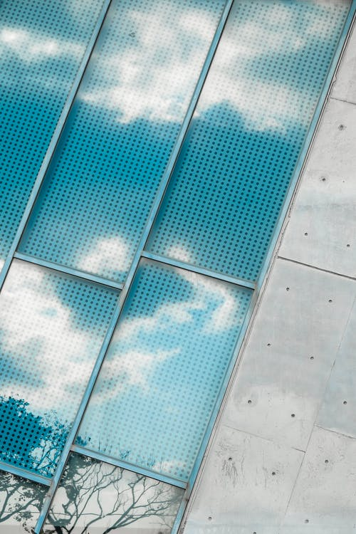 Kostenloses Stock Foto zu außen, beton, design, glas