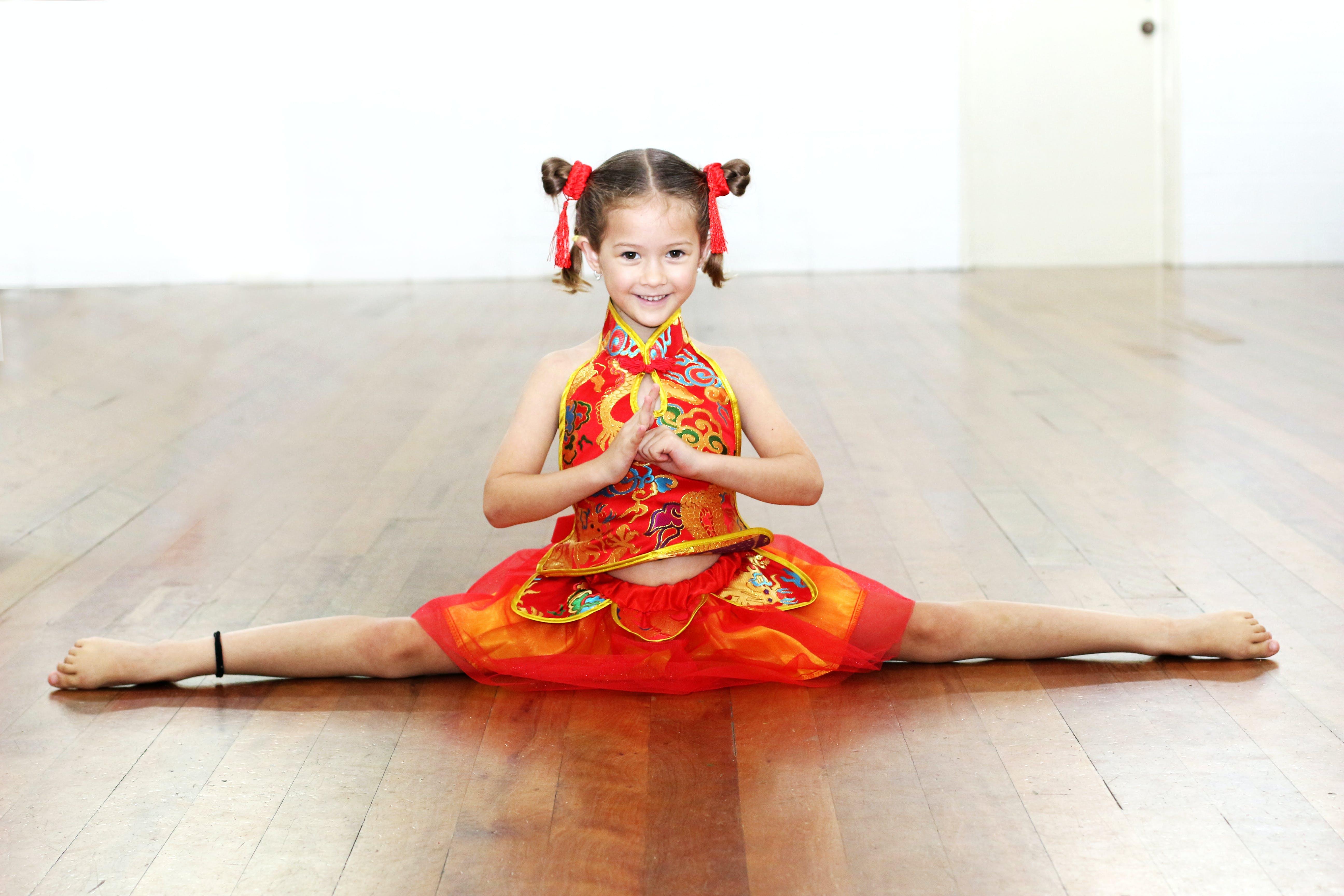 Free stock photo of chinese girl, chinese new year, dance, happy new year