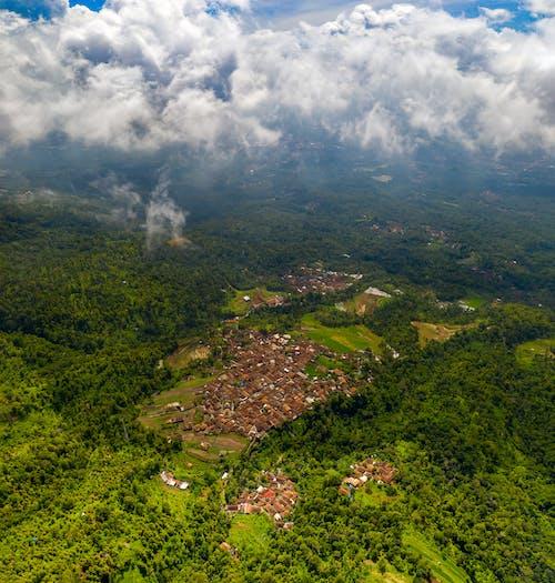 Безкоштовне стокове фото на тему «аерознімок, Аерофотозйомка, Будинки, дахи»