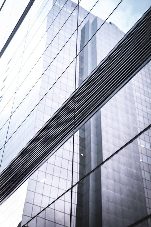 강철, 건축, 건축 설계, 구조의 무료 스톡 사진