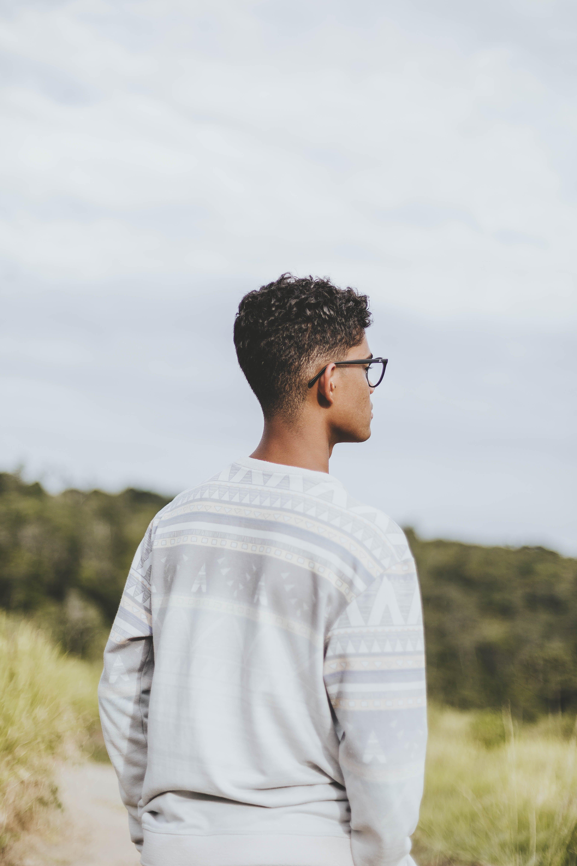 Kostenloses Stock Foto zu auge, black male, brille, brillen