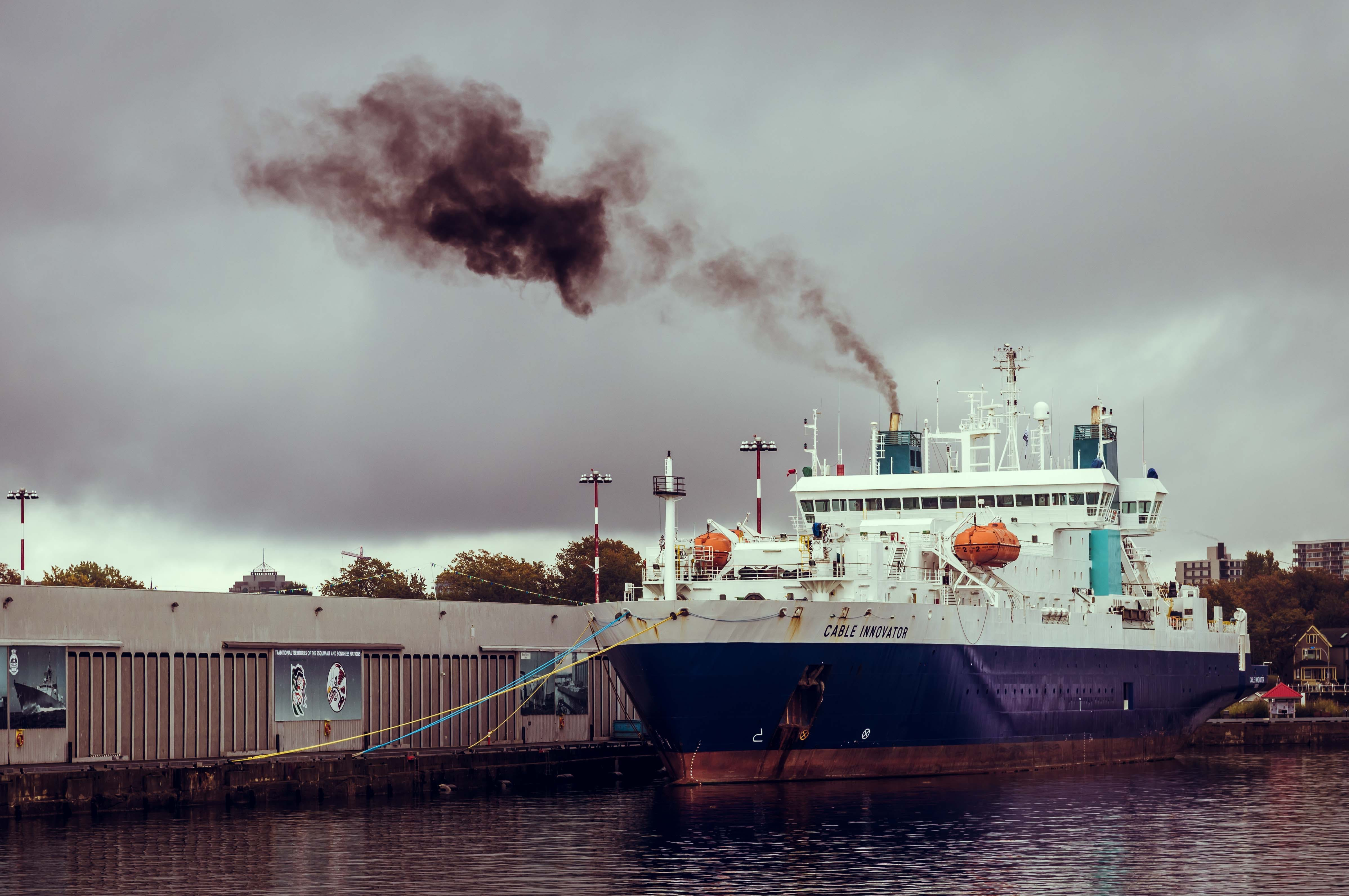 Free stock photo of air pollution, cable innovator, cloudy, dock