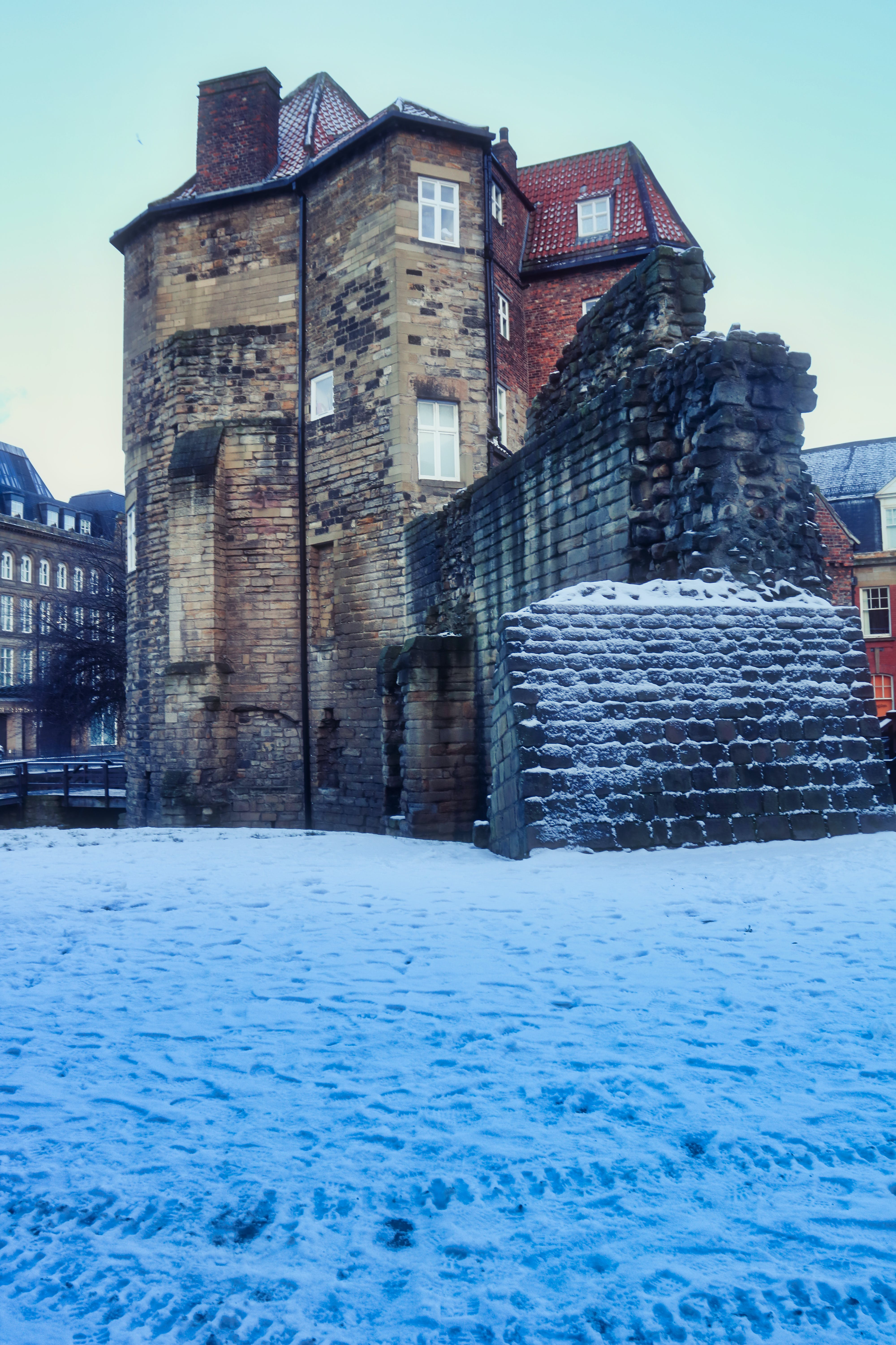Free stock photo of black gate, castle, ice, king henry