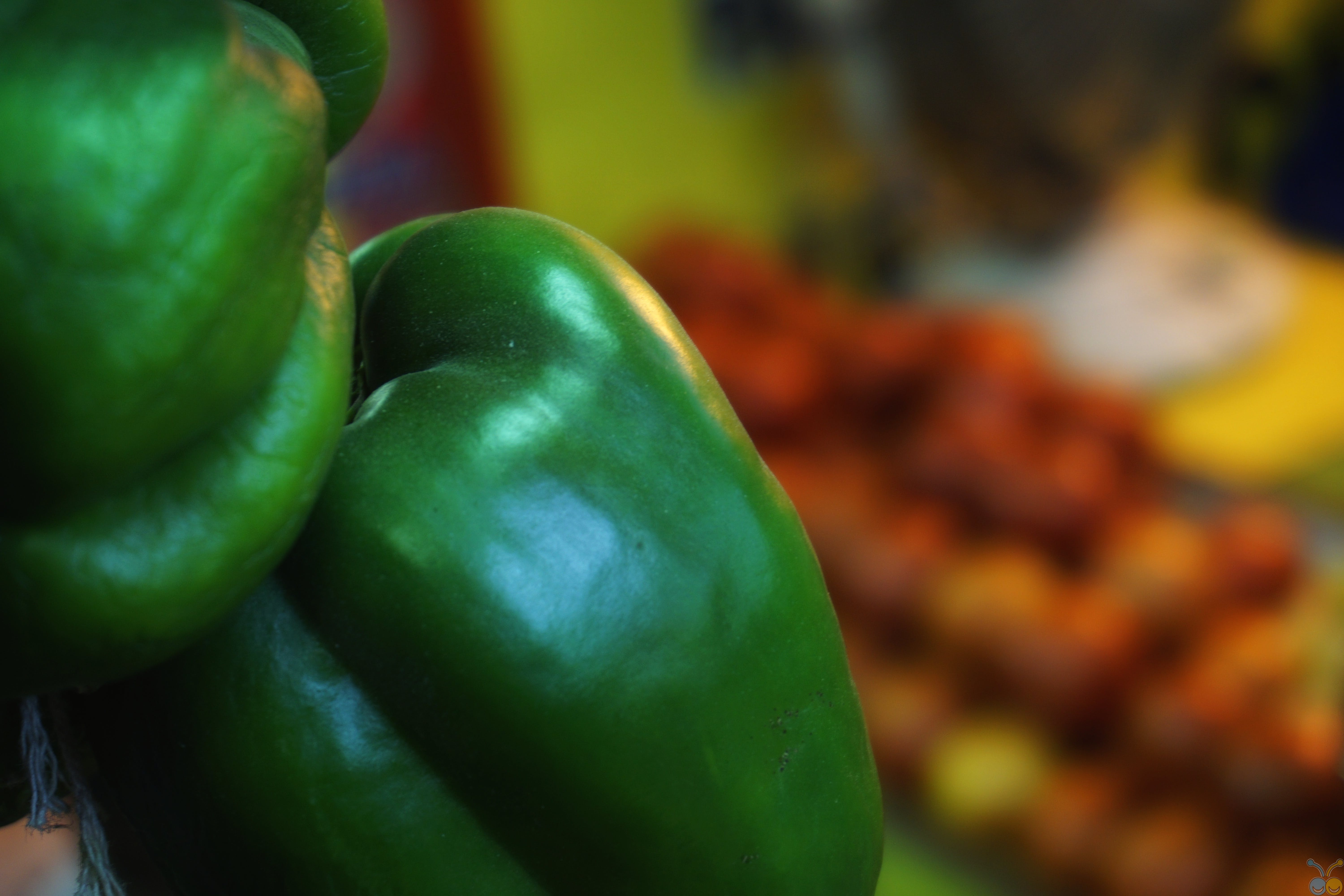 alluring, bell peppers, blur