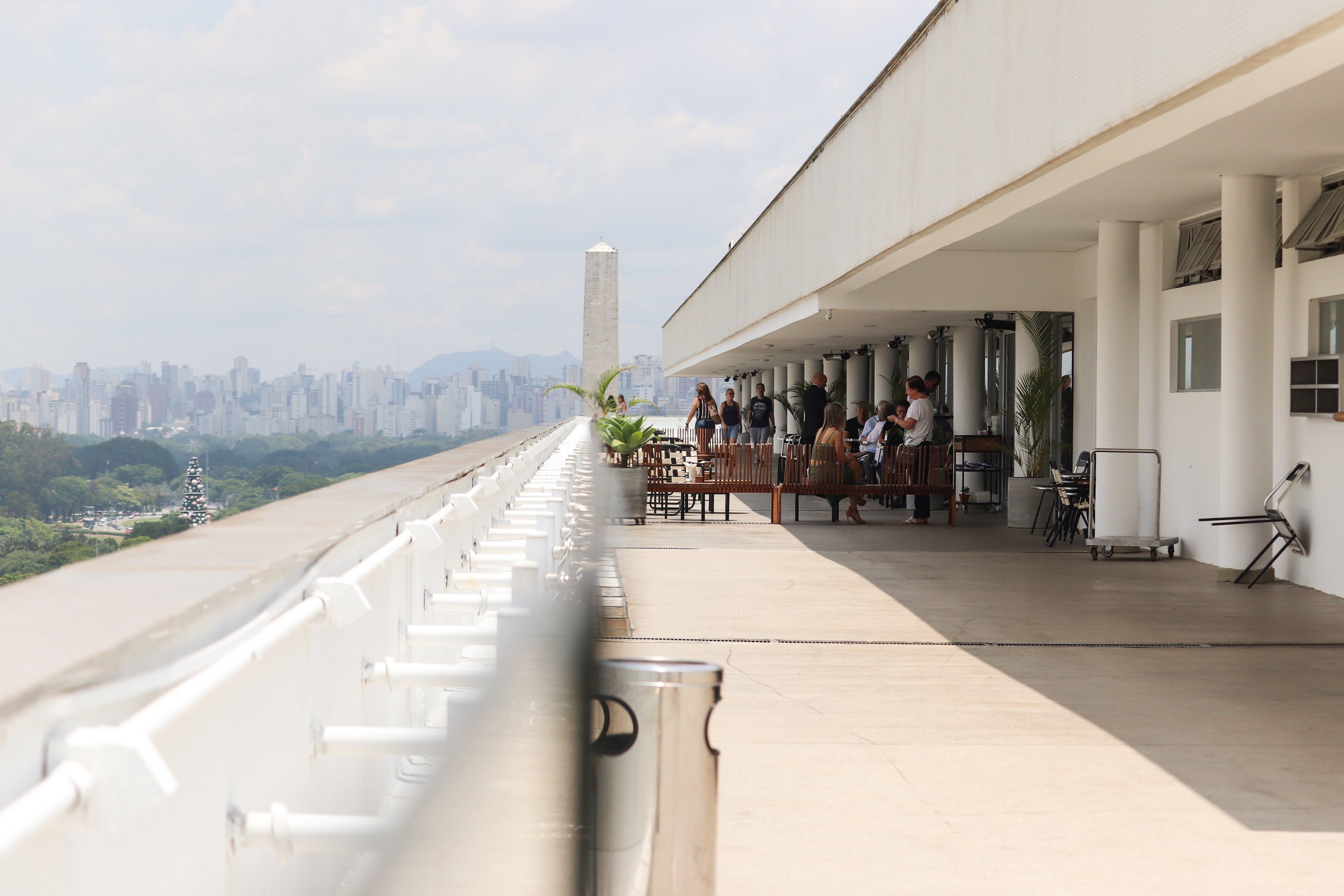 Kostenloses Stock Foto zu architekt, architektonisch, brasilien, linear