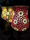 light, art, flowers