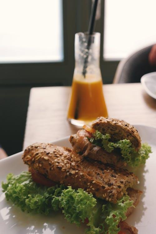 Δωρεάν στοκ φωτογραφιών με γεύμα, μαρούλι, πιατέλα, πιάτο