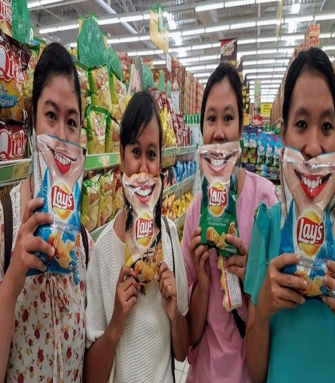 #indonesia #jakarta #muslim #funny #potato chips #