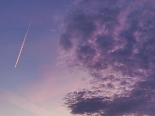 Photos gratuites de ciel, couleur rose