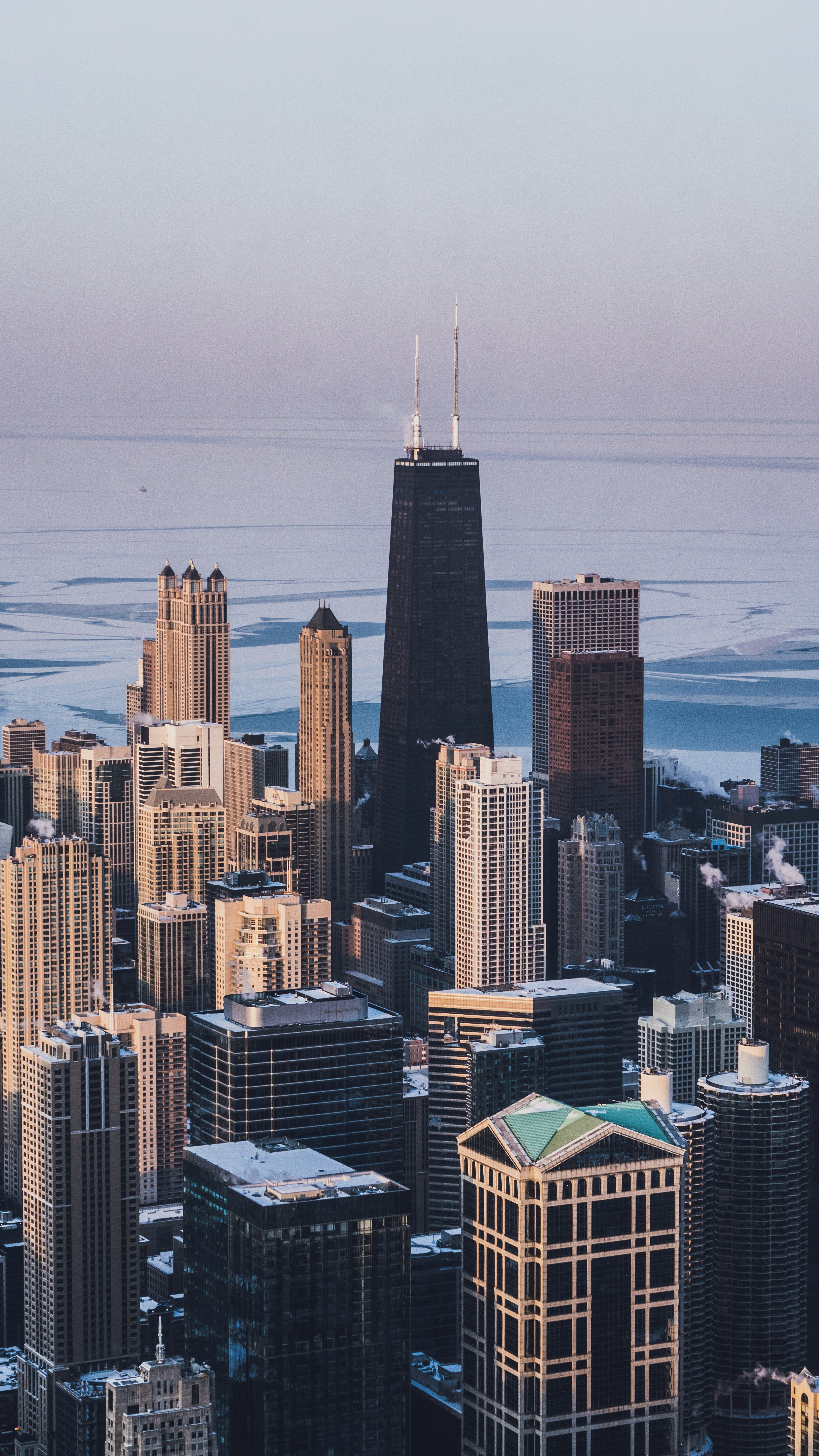 Free stock photo of chicago, downtown, downtown chicago, frozen