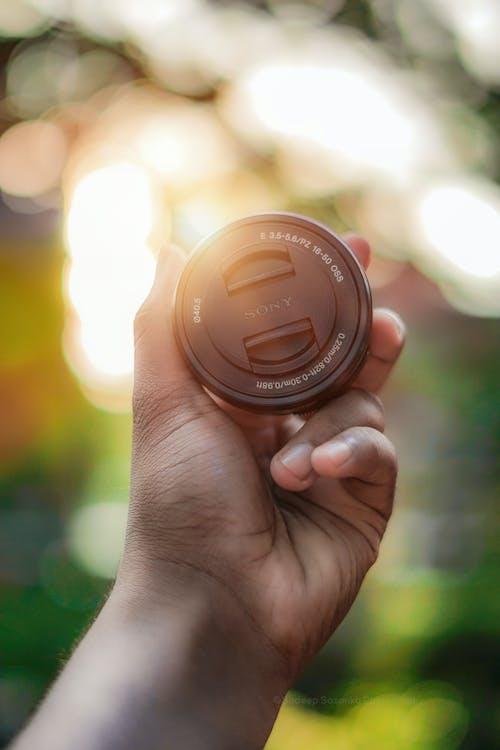 Бесплатное стоковое фото с блин, закат, камера, объектив sony