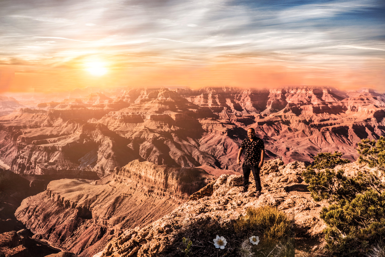 Kostenloses Stock Foto zu abenteuer, arizona, canyon, dramatischer himmel
