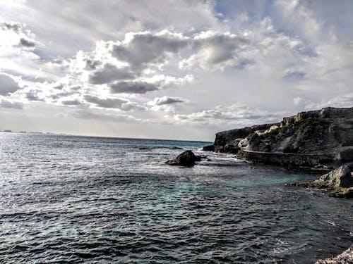 Fotobanka sbezplatnými fotkami na tému mraky, oceán