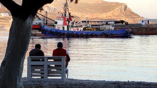 Free stock photo of people, port, sea