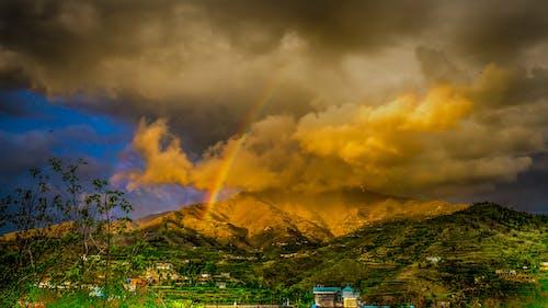 天性, 天空, 山, 彩虹 的 免費圖庫相片