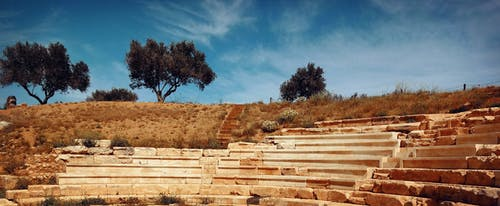 Free stock photo of ancient, theater, trees