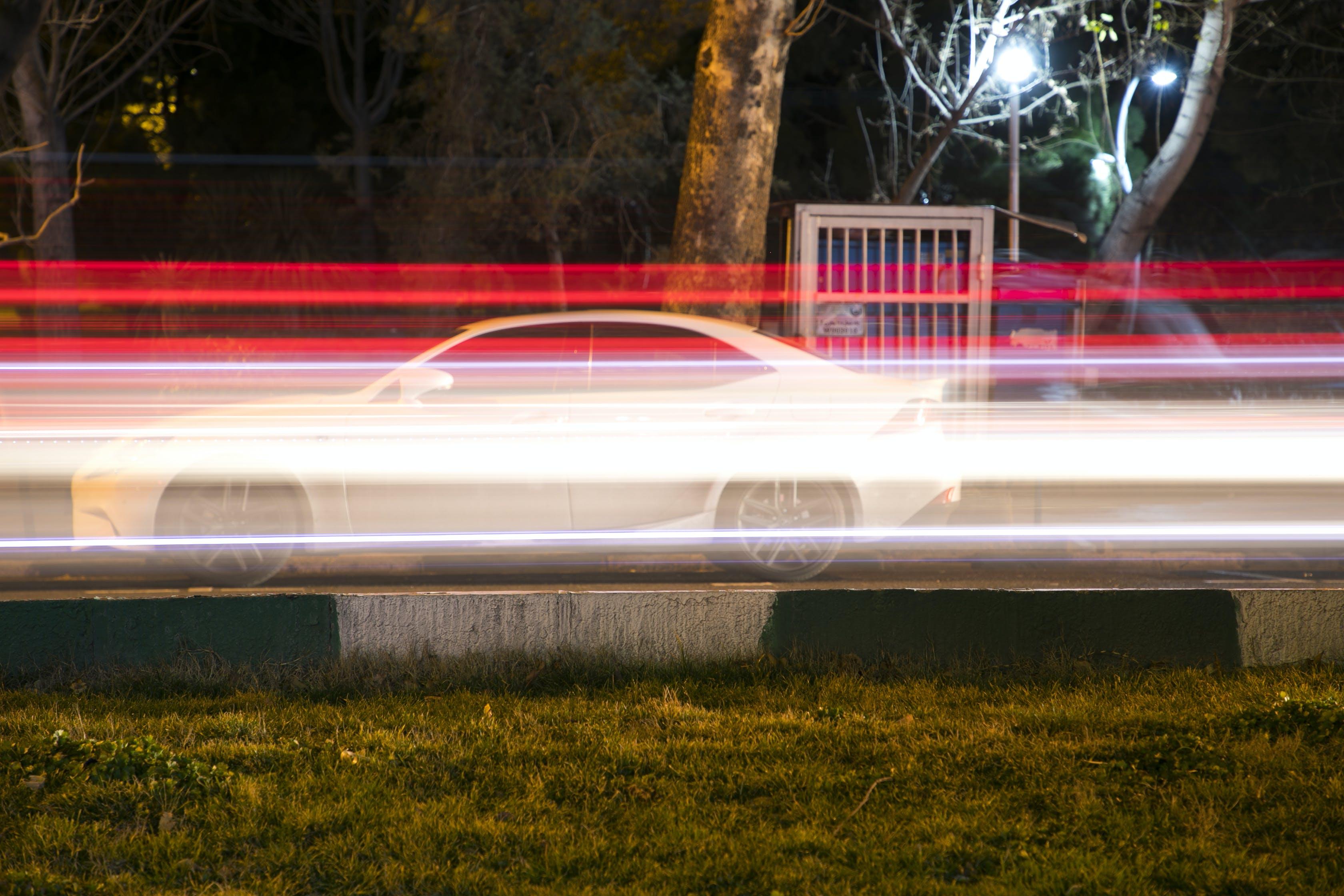 Free stock photo of car, car lights, lexus