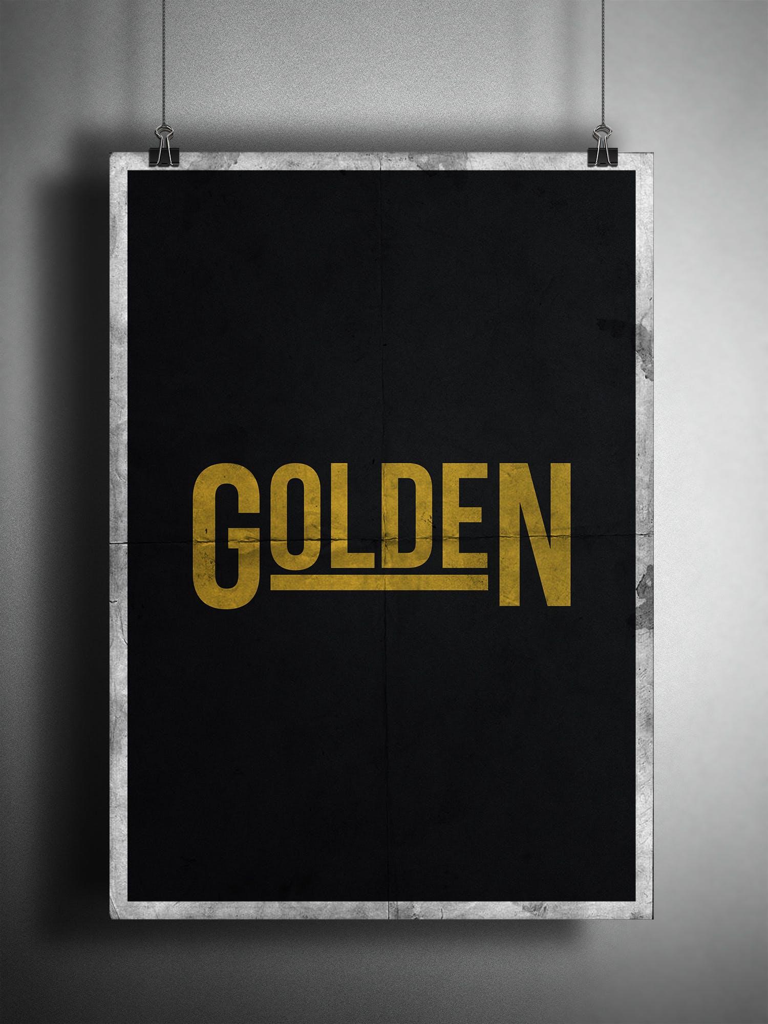 of black, dark, gold, golden
