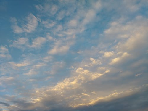 Free stock photo of clouds, evening, sky, sunset