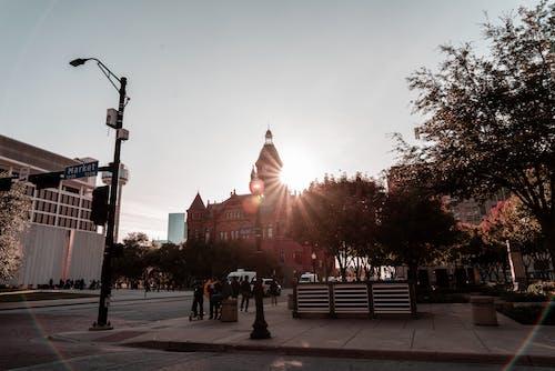 Бесплатное стоковое фото с архитектура, восход, город, городской