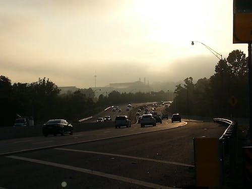 Kostnadsfri bild av dimma, fabrik, körning