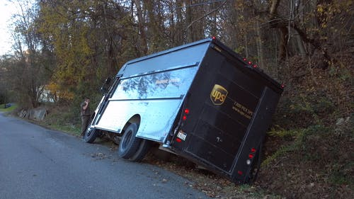 Kostnadsfri bild av dike, körning, olycka