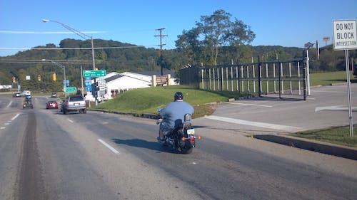 Kostnadsfri bild av motorcykel, övervikt, trafik