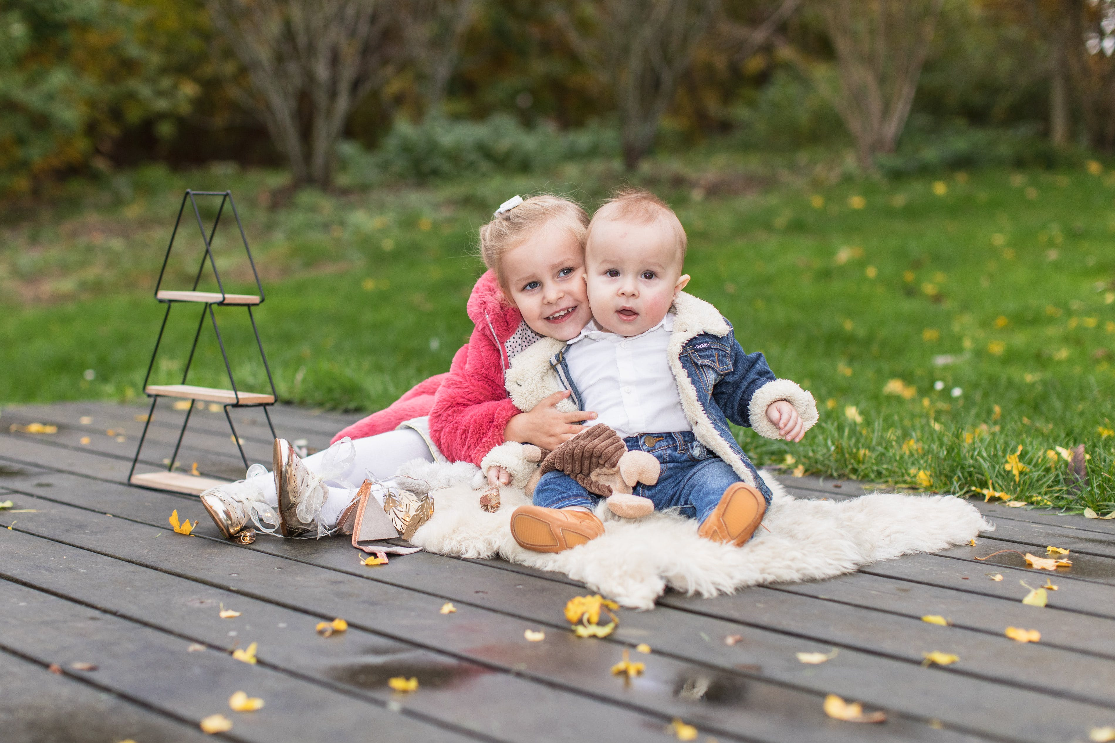 Gratis lagerfoto af børn, søskende