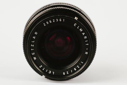 Black Round Camera Lens