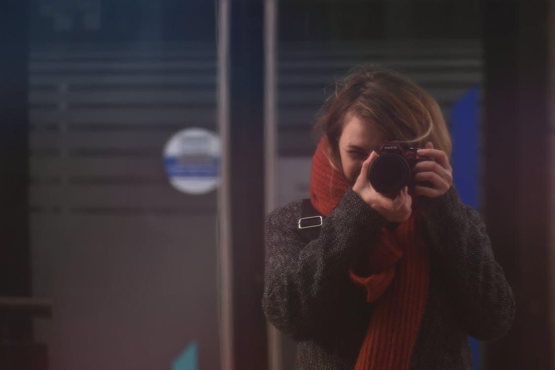 Woman Taking A Photo