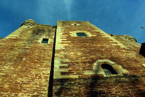 Foto d'estoc gratuïta de blau, cel, doune castle, escocès històric