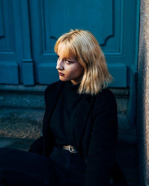 Fotobanka sbezplatnými fotkami na tému blond, blondína, človek, model