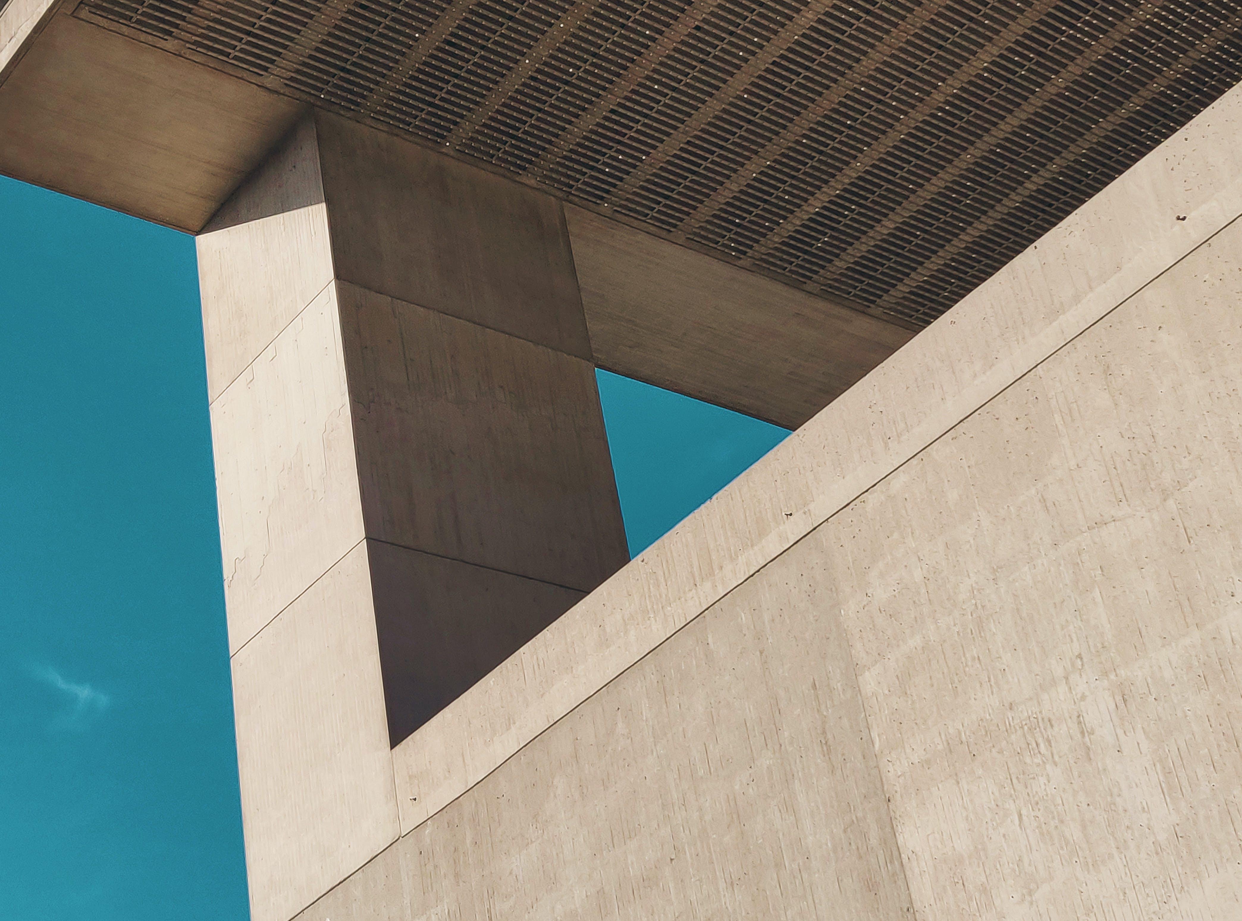 beton, bina, bina cephesi, çağdaş içeren Ücretsiz stok fotoğraf