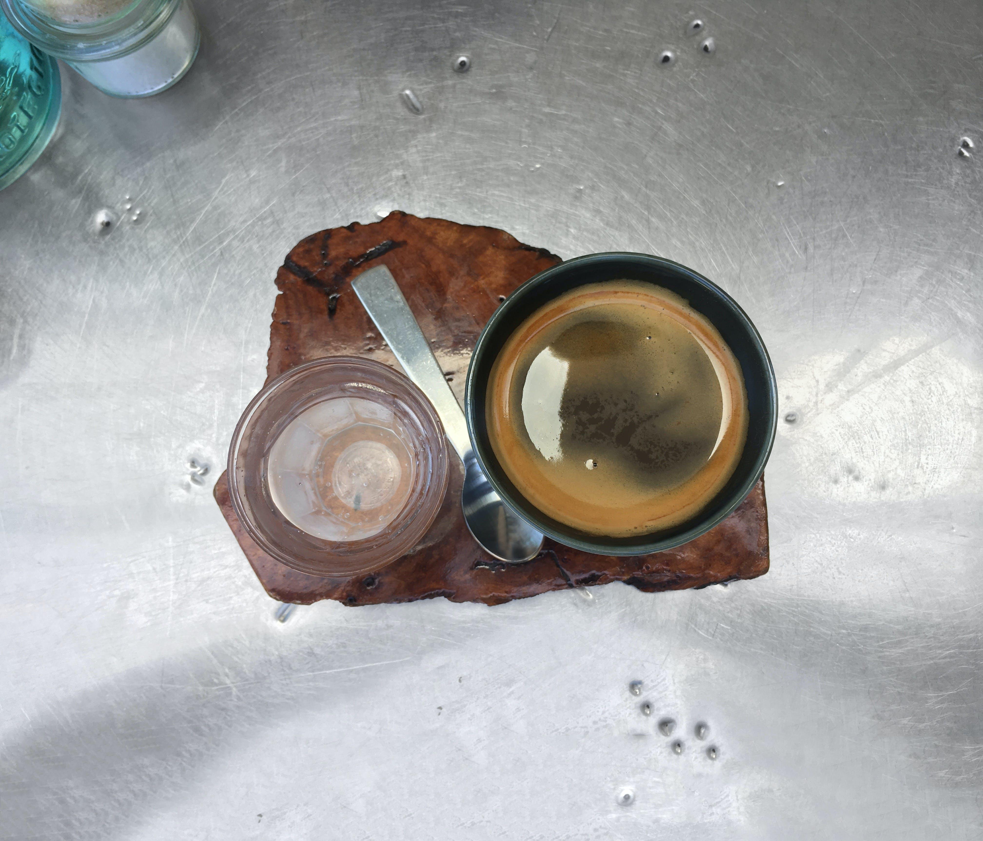 Free stock photo of beverage, black coffee, brewed coffee, café