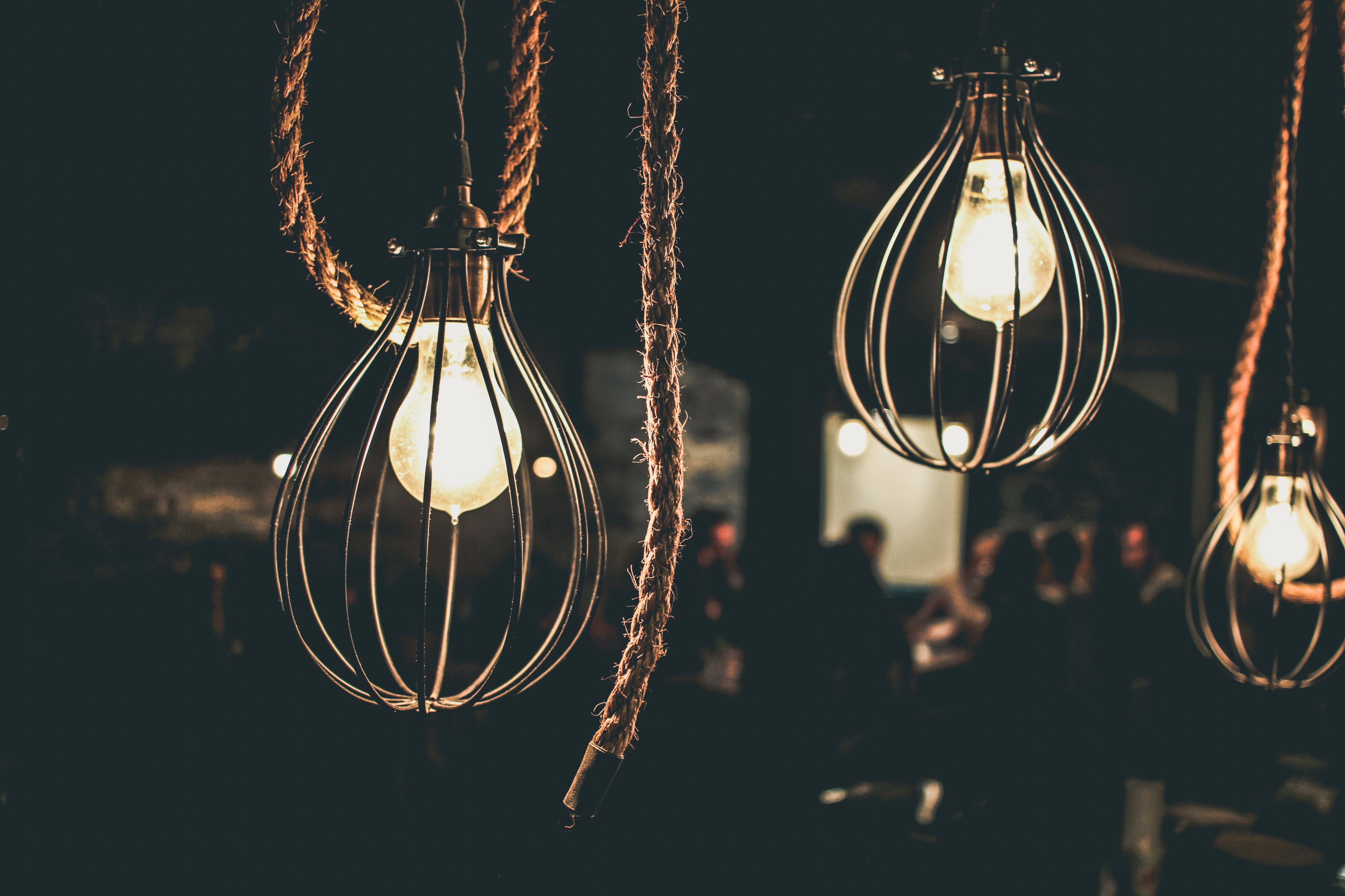 Free stock photo of bar, boat rope, indoors, light